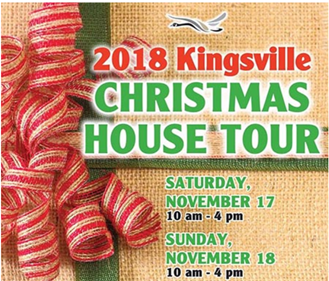 Glad tidings at FRC for the 2018 Kingsville Christmas House Tour